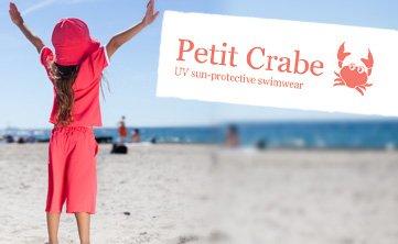 petit crabe swimwear