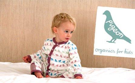 pigeon organics - 100% organic