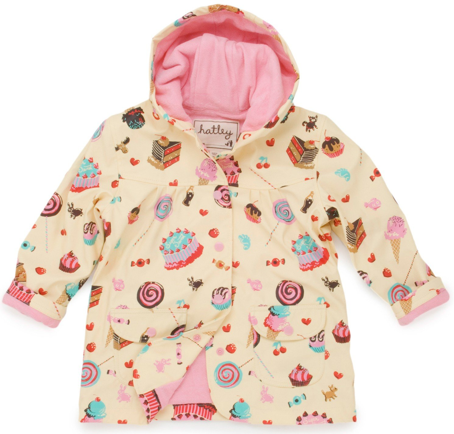 Hatley Rain Hatley Girls Candy Rain Coat