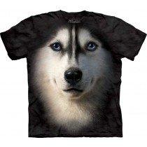 Mountain Big Face Tee - Siberian Dog