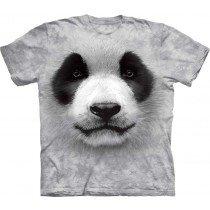 Mountain Big Face Tee - Panda Face