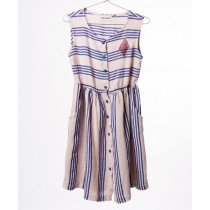 BOBO CHOSES - Striped Shaped Dress - Legend