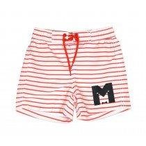 mini rodini - Stripe Swimshorts - Red