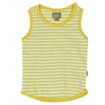 kidscase - Sol ORGANIC Tanktop - Yellow Stripe