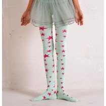 Funky Legs - Stars Tights - Mint