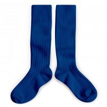 Collegien Socks - Knee High - Bursting Blue