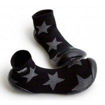 Collegien Slippers - Black Star by nununu
