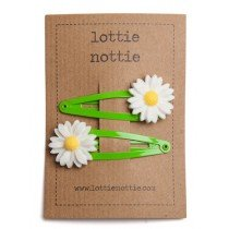 lottie nottie - Daisy on Green Clips