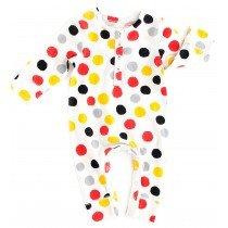 nadadelazos - Baby Romper - Watercolour Dots
