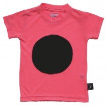 NUNUNU - Patch Tee Shirt - Neon Pink