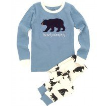 Hatley - Boys Pyjamas - Bearly Sleeping