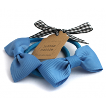 lottie nottie - FRENCH BLUE - Bow Hair Bands