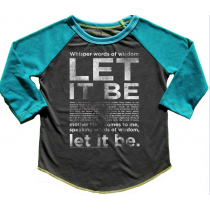 ROWDY SPROUT - Let it Be - Raglan TEE