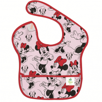 Bumkins Super Bib - Minnie Mouse