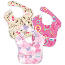 Bumkins Super Bib - 3 Pack Girls