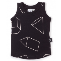 nununu - GEOMETRIC PRINT - Tank Top in Black