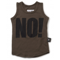 nununu - NO! - Tank Top in Olive