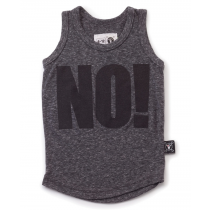 nununu - NO! - Tank Top in Charcoal