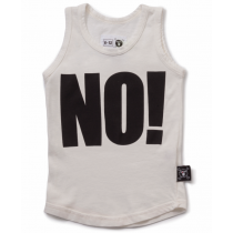 nununu - NO! - Tank Top in White