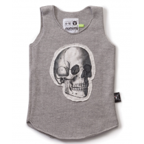 nununu - SKULL PATCH - Knitted Tank Top