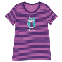 Womens PJ Tee - HATLEY - Night Owl