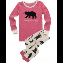 Hatley - Girls Pyjamas - Bearly Sleeping