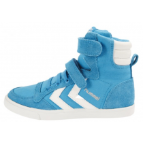 Hummel Trainers - Stadil Canvas High Tops - Methyl Blue