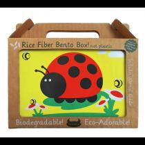 Beatrix New York - RICE FIBRE BENTO BOX - JUJU Ladybird