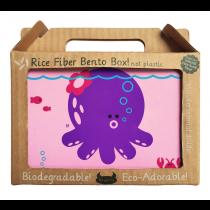 Beatrix New York - RICE FIBRE BENTO BOX - Penelope Octopus