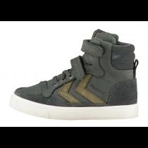 Hummel Trainers - Stadil Oiled High Sneaker - Dark Shadow