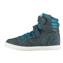 Hummel Trainers - Slimmer Stadil Glitter Sneaker - Moroccan Blue