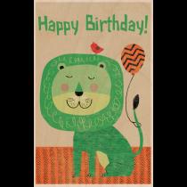 SKiN&BLiSS Birthday Card - LION