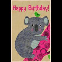 SKiN&BLiSS Birthday Card - KOALA