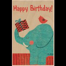 SKiN&BLiSS Birthday Card - Elephant