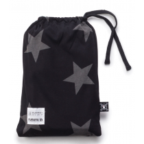 nununu blanket  - STAR in black