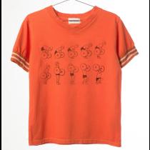 BOBO CHOSES - V Neck Tee Shirt - Weightlifting