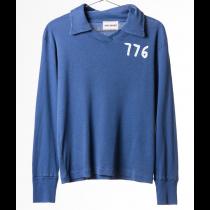 BOBO CHOSES - Long Sleeve Knitted Tee - Football Polo 776