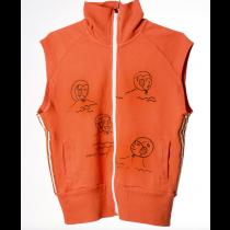 BOBO CHOSES - Sleeveless Zip Sweatshirt - Waterpolo