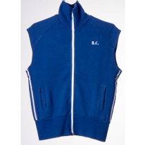 BOBO CHOSES - Sleeveless Zip Sweatshirt - Cyclist