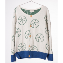 BOBO CHOSES - Knitted Cardigan - Cyclist