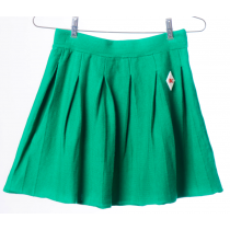 BOBO CHOSES - Pleated Knitted Skirt - Green