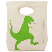 FLUF - ORGANIC LUNCH BAG - Dino
