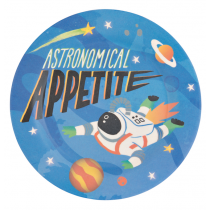 Hatley - Bamboo Plate - Space Cadet