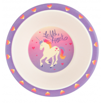 Hatley - Bamboo Bowl - Unicorn