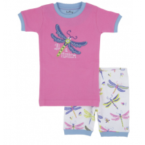 Girls Pyjamas - HATLEY Short PJ Set - Dragonfly