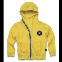 nununu - LIGHT ZIP HOODIE - Dusty Yellow