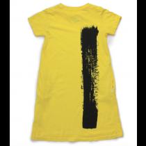 nununu - DYED A DRESS - dusty yellow