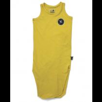 nununu - MAXI TANK DRESS - Dusty Yellow