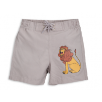 mini rodini - LION SWIMSHORTS - Light Grey