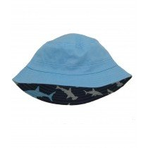 Hatley - Navy Sun Hat - Sharks